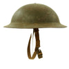 show larger image of product view 3 : Original U.S. WWII M1917A1 Kelly Helmet with Textured Paint Original Items