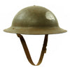 show larger image of product view 4 : Original U.S. WWII M1917A1 Kelly Helmet with Textured Paint Original Items