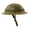 show larger image of product view 5 : Original U.S. WWII M1917A1 Kelly Helmet with Textured Paint Original Items