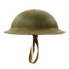 show larger image of product view 6 : Original U.S. WWII M1917A1 Kelly Helmet with Textured Paint Original Items