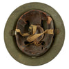 show larger image of product view 8 : Original U.S. WWII M1917A1 Kelly Helmet with Textured Paint Original Items