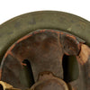 show larger image of product view 11 : Original U.S. WWII M1917A1 Kelly Helmet with Textured Paint Original Items