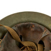 show larger image of product view 13 : Original U.S. WWII M1917A1 Kelly Helmet with Textured Paint Original Items