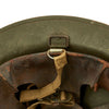 show larger image of product view 14 : Original U.S. WWII M1917A1 Kelly Helmet with Textured Paint Original Items