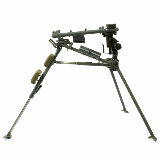Original German WWII Era MG 42 Sustained Fire Lafette Tripod - Painted Panzergrau