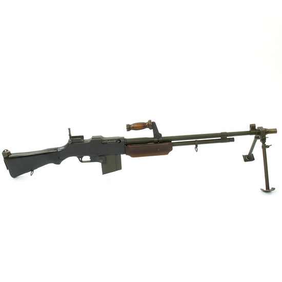 Original U.S. BAR Browning 1918A2 Display Gun Constructed with Genuine Parts - Barrel Dated 1 - 54
