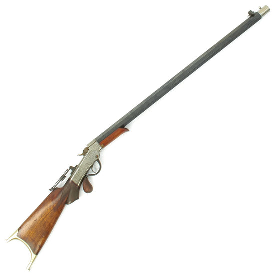Original U.S. Marlin Ballard Patent Large Bore Special Order High End Sharpshooter's Rifle made in 1866 Original Items