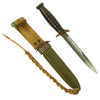 Original U.S. WWII M3 Utica Fighting Knife with M8 Scabbard
