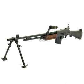 Original U.S. WWII BAR Browning 1918A2 Display Gun Constructed with Genuine Parts - Barrel Dated 1944