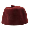 show larger image of product view 5 : Original German WWII Waffen SS M43 Maroon Parade Fez for Foreign Volunteers Original Items