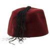 show larger image of product view 7 : Original German WWII Waffen SS M43 Maroon Parade Fez for Foreign Volunteers Original Items