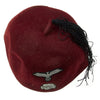 show larger image of product view 8 : Original German WWII Waffen SS M43 Maroon Parade Fez for Foreign Volunteers Original Items