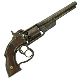 Original U.S. Civil War Savage 1861 Navy Model .36 Caliber Percussion Revolver - Serial No 1039