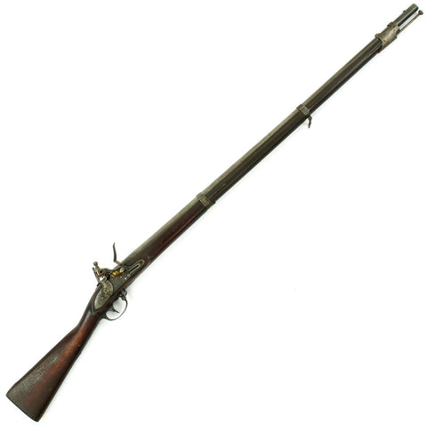 Original U.S. Springfield Model 1822 Flintlock Musket by Lemuel Pomeroy - Dated 1830 Original Items