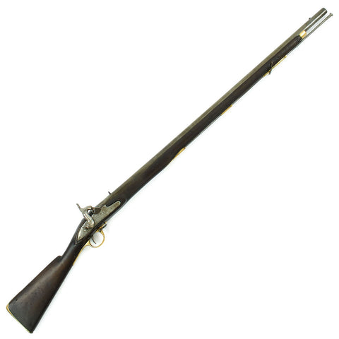 Original British East India Company Model A Converted Percussion Musket with Tower Lock - Circa 1835 Original Items