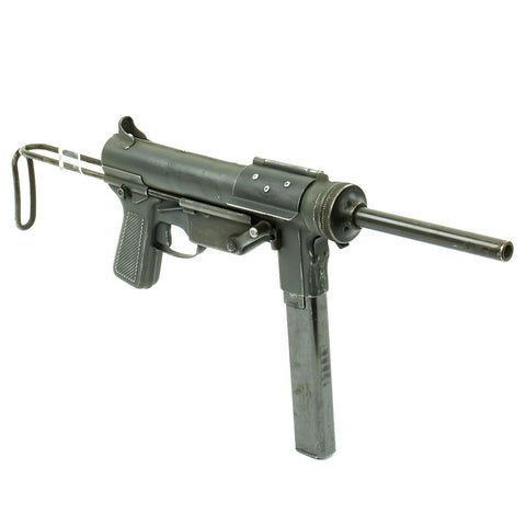 Original U.S. WWII M3 Grease Gun Display by Guide Lamp Company - Serial 297791 Original Items