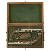 show larger image of product view 2 : Original German Cased Pair of High-End Percussion Rifled Pistols by Klawitter of Herzberg with Accessories - c. 1835 Original Items
