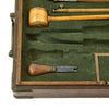 show larger image of product view 13 : Original German Cased Pair of High-End Percussion Rifled Pistols by Klawitter of Herzberg with Accessories - c. 1835 Original Items