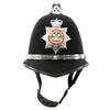 show larger image of product view 1 : Original British Comb Top Bobby Helmet from the South Wales Police in size 59 - c. 1990 Original Items