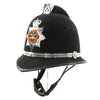 show larger image of product view 6 : Original British Comb Top Bobby Helmet from the South Wales Police in size 59 - c. 1990 Original Items
