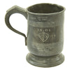 show larger image of product view 2 : Original British EIC Pewter Half Pint Naval Rum Measure from East Indiaman HINDOSTAN - Dated 1801 Original Items