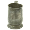 show larger image of product view 5 : Original British EIC Pewter Half Pint Naval Rum Measure from East Indiaman HINDOSTAN - Dated 1801 Original Items