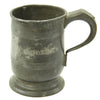 show larger image of product view 1 : Original British EIC Pewter Half Pint Naval Rum Measure from East Indiaman HINDOSTAN - Dated 1801 Original Items