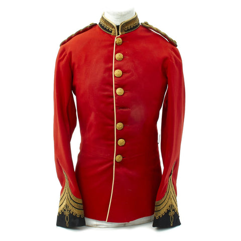 Original British Victorian Bengal Staff Corps Officer Tunic 1861 - 1876 Original Items