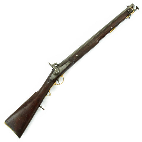 Original British Victorian Tower-Marked Saddle Ring Percussion Cavalry Carbine dated 1855 Original Items