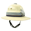show larger image of product view 4 : Original Australian Victoria Police Force Fiber Pith Helmet with George VI King's Crown c. 1950 Original Items