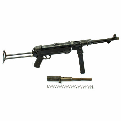 Original German WWII 1941 Dated MP 40 Display Gun by Steyr with Internals and Magazine - Maschinenpistole 40 Original Items