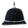 show larger image of product view 5 : Original British Recent Issue Spike Top EIIR marked Bermuda Police Bobby Helmet - Size 7 3/8 Original Items