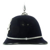 show larger image of product view 7 : Original British Recent Issue Spike Top EIIR marked Bermuda Police Bobby Helmet - Size 7 3/8 Original Items