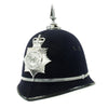show larger image of product view 2 : Original British Recent Issue Spike Top EIIR marked Bermuda Police Bobby Helmet - Size 7 3/8 Original Items