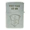 show larger image of product view 1 : Original U.S. Vietnam War 1st Infantry Division Named Engraved Zippo - Dated 1967 - 1968 Original Items