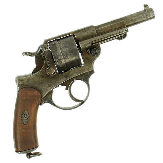 Original French Model MAS Model 1873 11mm Revolver Dated 1875 - Serial Number F42619