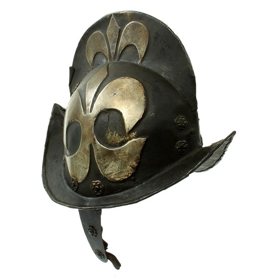 Original 17th Century German Comb Morion Helmet from the City of Nuremberg c. 1550 - 1680 Original Items
