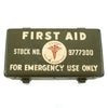 show larger image of product view 2 : Original U.S WWII Jeep Emergency First Aid Kit 12 Unit - Complete Unissued Original Items
