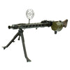 show larger image of product view 1 : Original German WWII MG 42 Display Machine Gun by Mauser with A.A. Sight and Dated Belt Drum Original Items