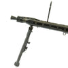 show larger image of product view 5 : Original German WWII MG 42 Display Machine Gun by Mauser with A.A. Sight and Dated Belt Drum Original Items