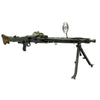 show larger image of product view 11 : Original German WWII MG 42 Display Machine Gun by Mauser with A.A. Sight and Dated Belt Drum Original Items