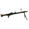 show larger image of product view 12 : Original German WWII MG 42 Display Machine Gun by Mauser with A.A. Sight and Dated Belt Drum Original Items