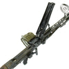 show larger image of product view 18 : Original German WWII MG 42 Display Machine Gun by Mauser with A.A. Sight and Dated Belt Drum Original Items