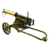 show larger image of product view 6 : Original Imperial Russian M1910 Brass Maxim Display Machinegun with Sokolov Mount Original Items