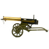 show larger image of product view 3 : Original Imperial Russian M1910 Brass Maxim Display Machinegun with Sokolov Mount Original Items