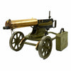 show larger image of product view 1 : Original Imperial Russian M1910 Brass Maxim Display Machinegun with Sokolov Mount Original Items