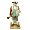 "show larger image of product view 2 : Original U.S. Collector's Revolutionary War Town Crier Porcelain Figurine - 12 1/2"" Tall Original Items"