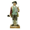 "show larger image of product view 1 : Original U.S. Collector's Revolutionary War Town Crier Porcelain Figurine - 12 1/2"" Tall Original Items"