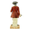 "show larger image of product view 4 : Original U.S. Collector's Revolutionary War Town Crier Porcelain Figurine - 12 1/2"" Tall Original Items"