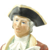 "show larger image of product view 6 : Original U.S. Collector's Revolutionary War Town Crier Porcelain Figurine - 12 1/2"" Tall Original Items"